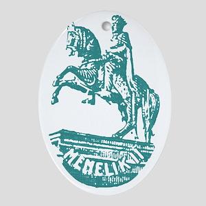 minilik Oval Ornament