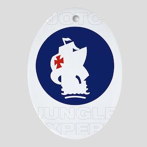 JungleExpert004 Oval Ornament