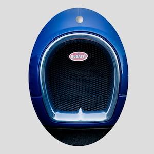 Bugatti4 Oval Ornament