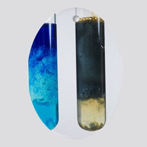 Hydroxide precipitates - Oval Ornament