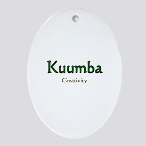 Kuumba Oval Ornament