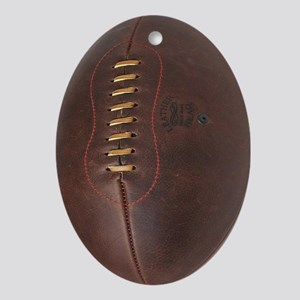 rugby ball Oval Ornament