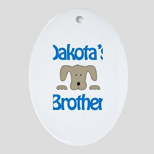 Dakota's Brother Oval Ornament