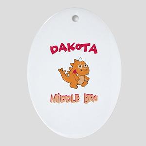 Dakota - Middle Brother Oval Ornament