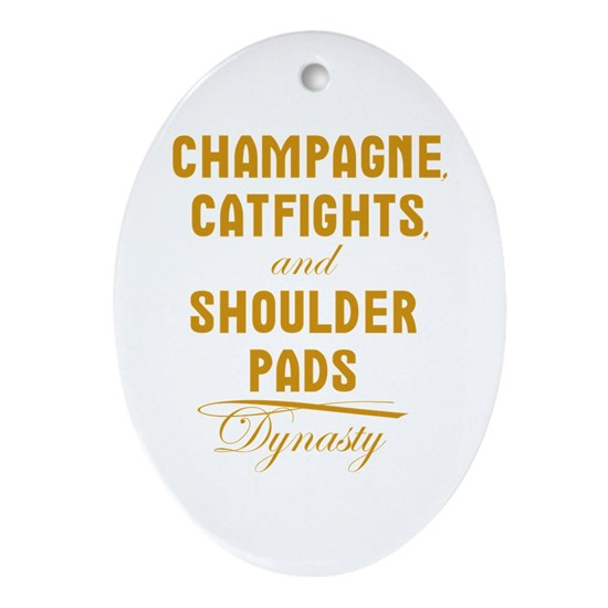 Dynasty Champagne Catfights Shoulder Pads