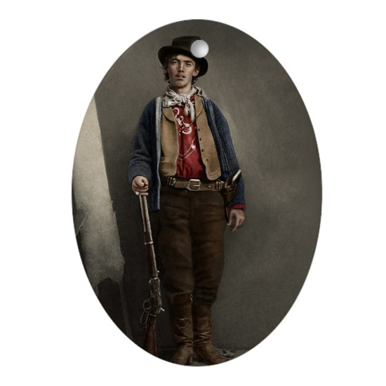 23X35 Billy the Kid Color Print
