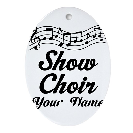 Personalized Show Choir Gift