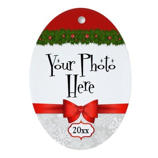 Christmas Holly Custom Photo