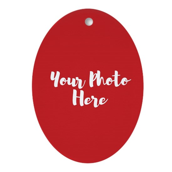 Personalized Oval Ornament