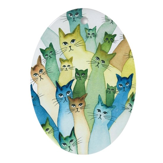 Lacomb Whimsical Cats