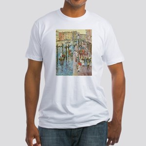 Maurice Prendergast Venice Grand Canal Fitted T-Sh