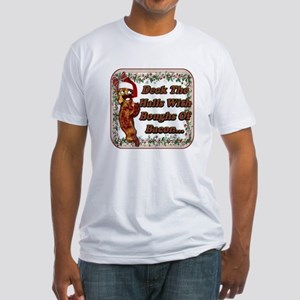 Bacon Boughs Fitted T-Shirt