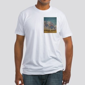 Vintage Race Fitted T-Shirt
