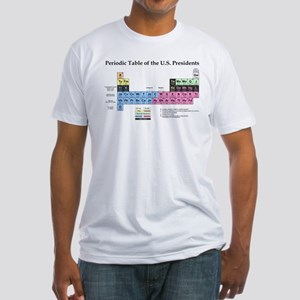 cec3cc65 Periodic Table of the US Presidents T-Shirt