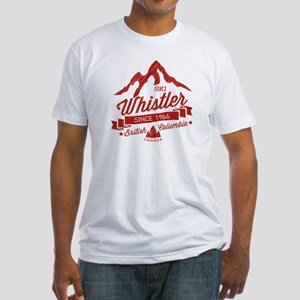 Whistler Mountain Vintage Fitted T-Shirt
