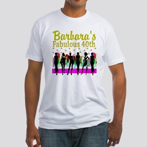 7433a140b 40th Birthday Party Men's Fitted T-Shirts - CafePress