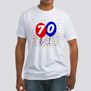 70th Birthday Fitted T-Shirt