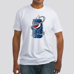 Pepsi Can Doodle Fitted T-Shirt