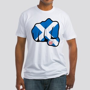 Scotland 30-6 Fitted T-Shirt