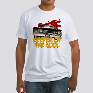 1967 Olds 442 Fitted T-Shirt
