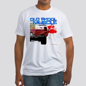 old skool 69 hurst Fitted T-Shirt