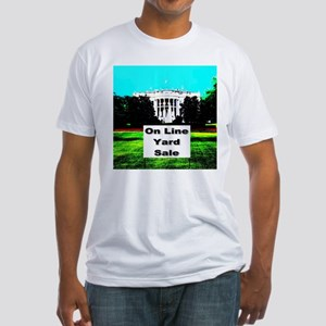 White House On Line Yard Sale Fitted T-Shirt