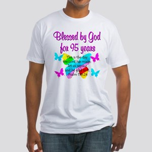 RELIGIOUS 95TH Fitted T-Shirt