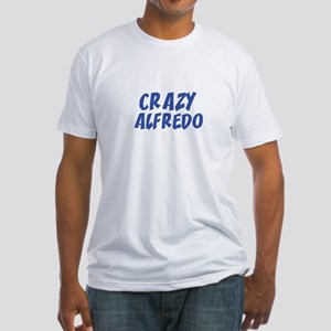 CRAZY ALFREDO Fitted T-Shirt