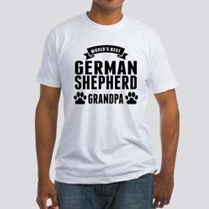 Worlds Best German Shepherd Grandpa T-Shirt