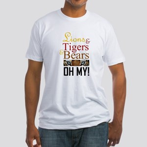 Lions & Tigers & Bears Fitted T-Shirt