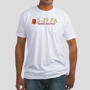 2nd Bn 29th FA Fitted T-Shirt