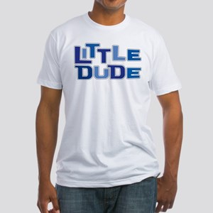 LITTLE DUDE Fitted T-Shirt