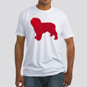 Spanish Water Dog Fitted T-Shirt