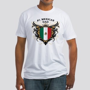 Number One Mexican Dad Fitted T-Shirt