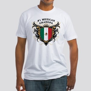 Number One Mexican Grandpa Fitted T-Shirt