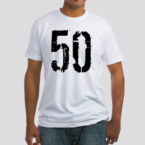 Grunge 50 Style 3 Fitted T-Shirt