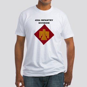 45th INfantry Division Fitted T-Shirt