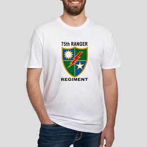 75TH RANGER REGIMENT Fitted T-Shirt