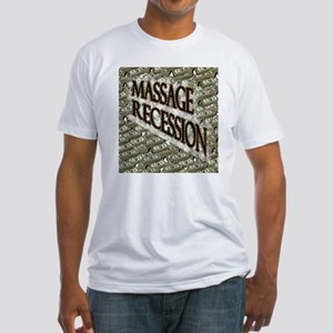 Massage Recession Fitted T-Shirt