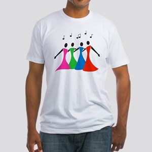 singingaloud Fitted T-Shirt
