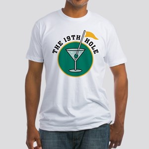 19th Hole Fitted T-Shirt