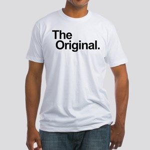 THE ORIGINAL. THE REMIX. FATHER SON GIFT Fitted T-