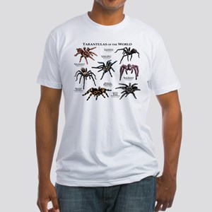 Tarantulas of the World Fitted T-Shirt