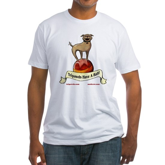 floydball t-shirt WHT 10x10 three legged circus do