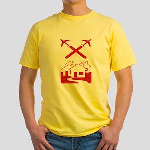 Chem-Trail Yellow T-Shirt