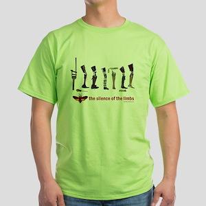 4e52b9bcf Silence of the Limbs Green T-Shirt