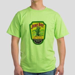 June Boy Pickles Green T-Shirt