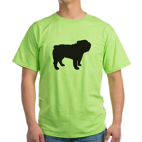 Bulldog Green T-Shirt