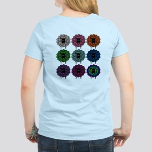 A Rainbow of Sheep Women's Light T-Shirt