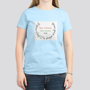 Personalized Big Hearted Teacher T-Shirt